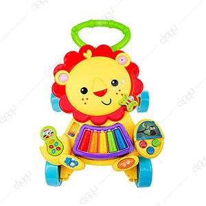 2 in 1 Musical Lion Baby Walker