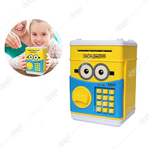 Minion Piggy Bank Digital Money Safe