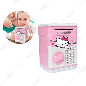 Hello Kitty Piggy Bank Digital Money Safe