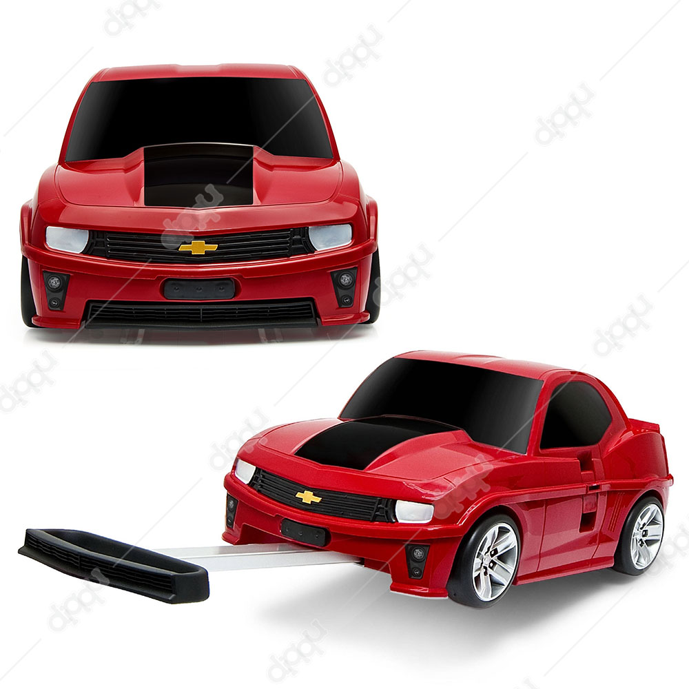 Welly Red Chevrolet Camaro ZL1 Rolling Luggage