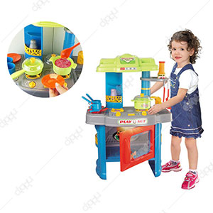 Kitchen Play Set with Light