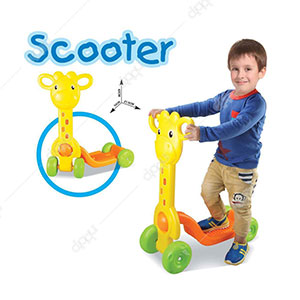 Giraffe 'Scooter' Ride